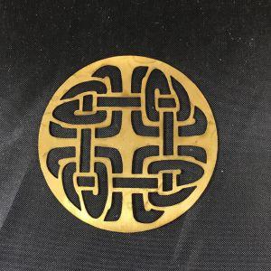 Celtic Knot Brass Filigree