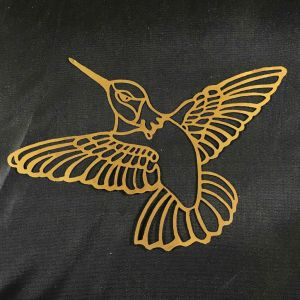 Hummingbird Brass Filigree