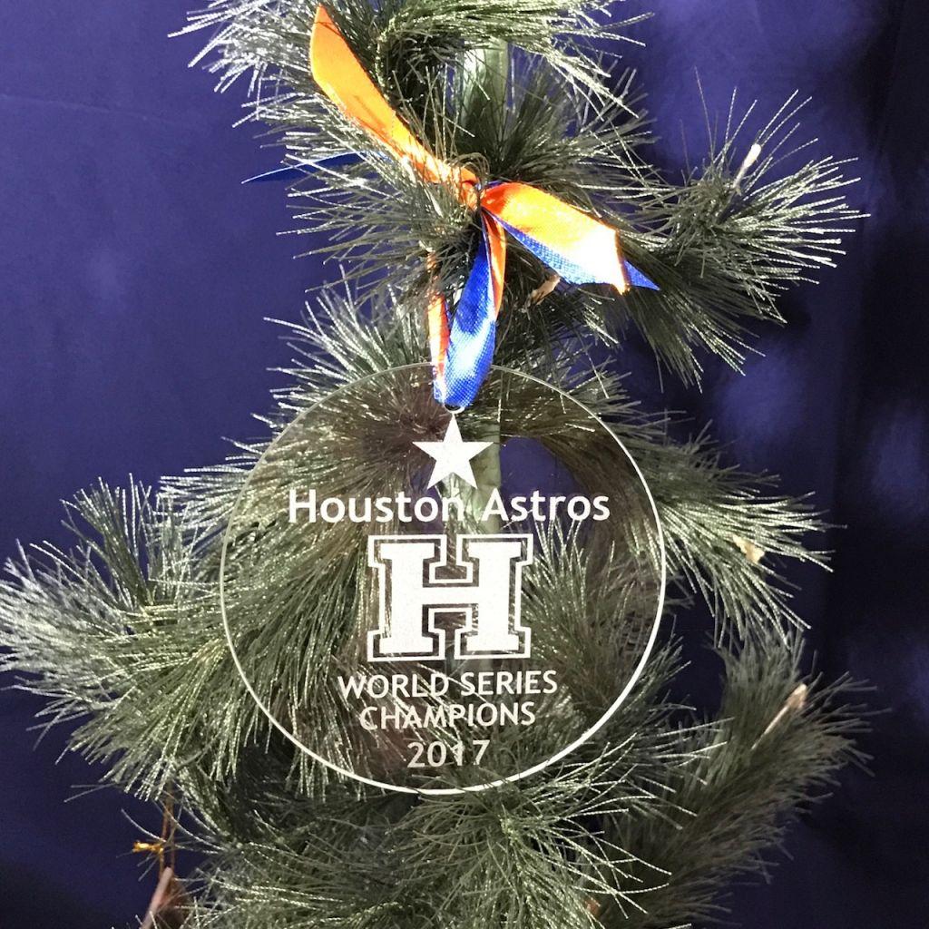 houston astros world series christmas ornament