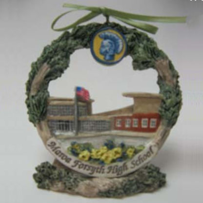 Maroa Forsyth high school ornament