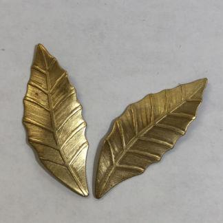 Wholesale 200 Brass Filigree Leaf Component 10x18mm Raw Brass Antique Bronze Silver Gold Rose Gold Platinum Gun-Metal 14k Gold