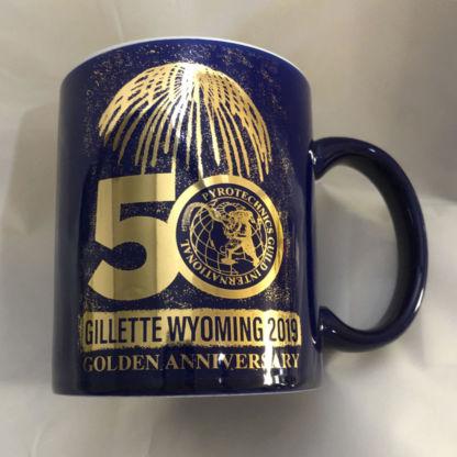 PGI 50th Anniversary Gold Coffee Mug