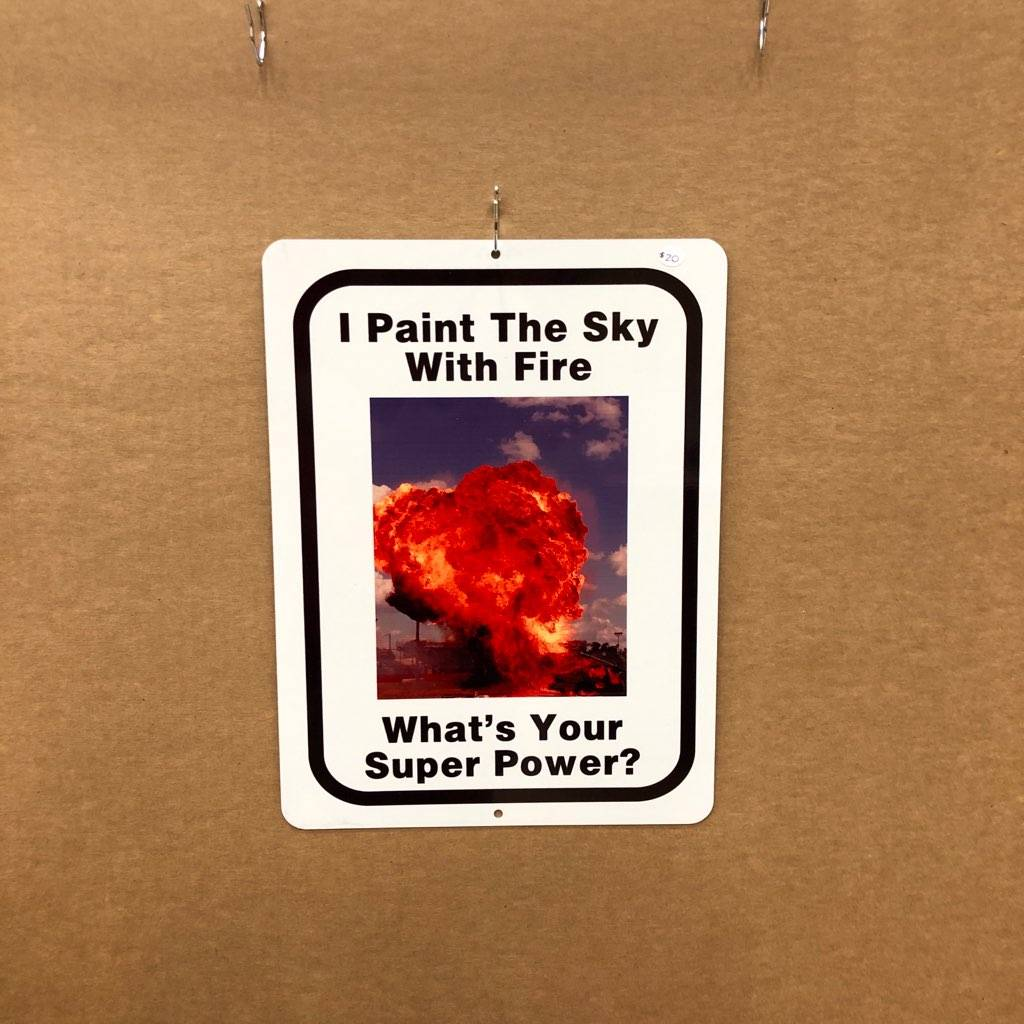 I Paint the Sky with Fire