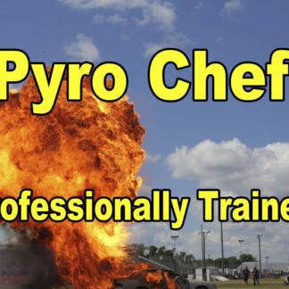 Pyro Chef Fireball Cutting Board