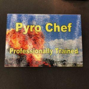 Pyro Chef - Professionally Trained Cutting Board