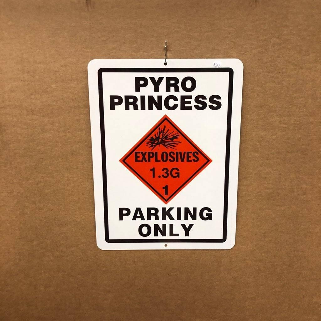 Pyro Princess Parking Only