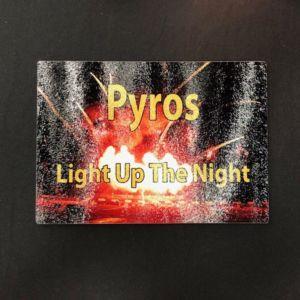 Pyros - Light Up The Night Cutting Board