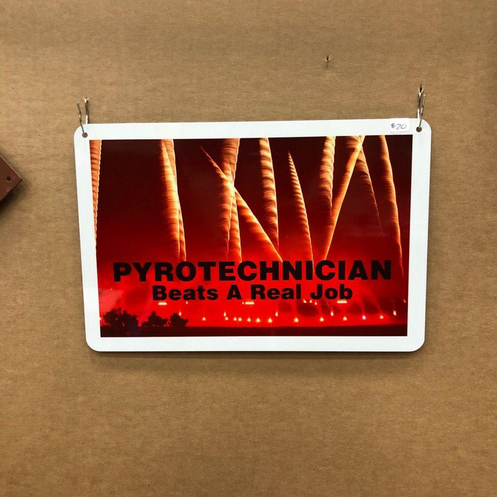 Pyrotechnician - Beats A Real Job
