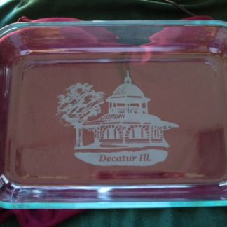 Custom Pyrex Baking Dish